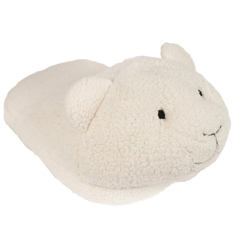 Chausson double mouton câlin