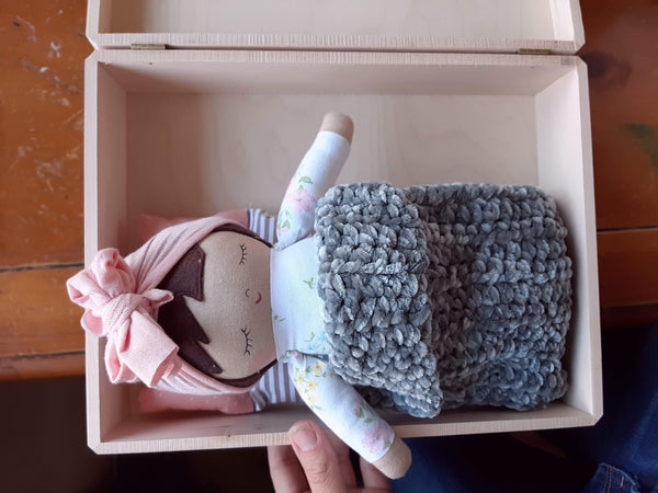 A- small doll box