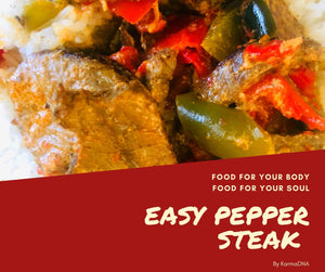 Easy Pepper Steak and Rice Pilaf