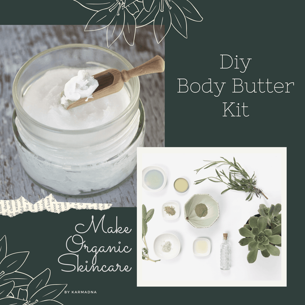 DIY Body Butter Kit, Make Whipped Body Butter at Home - KarmaDNA