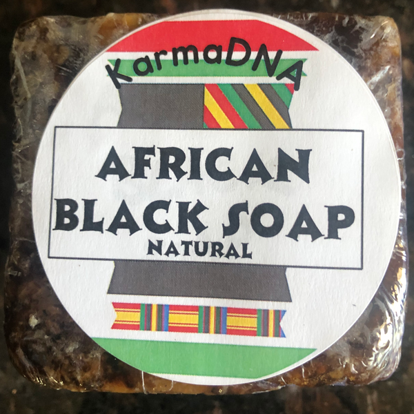 African Black Soap, Premium Quality Natural Handmade Soap - KarmaDNA