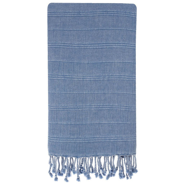 Micro-Cotton Smart Towels, Blue Stone