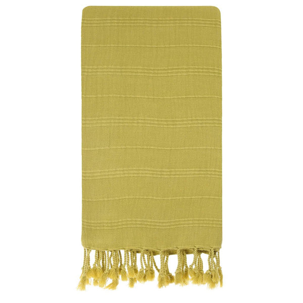 Micro-Cotton Smart Towels, Mustard Yellow