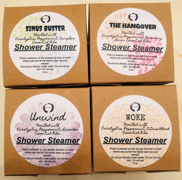 Shower Steamers - Shower Bombs with Eucalyptus, Menthol and Essential Oils - KarmaDNA