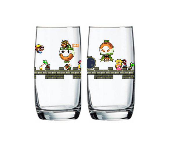 "Single Product Image Thumbnail ""The Fall of Bowser"" is back! Glass #18"