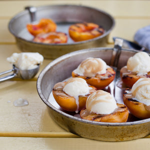 Gourmet Inspirations Grilled Peaches