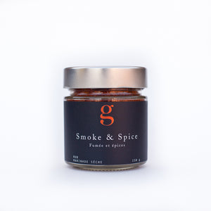 Smoke & Spice Rub - Great rubbed on your grilled smoked meats including steak, turkey, salmon, pork or chicken. Also decadent sprinkled on roasted vegetables.