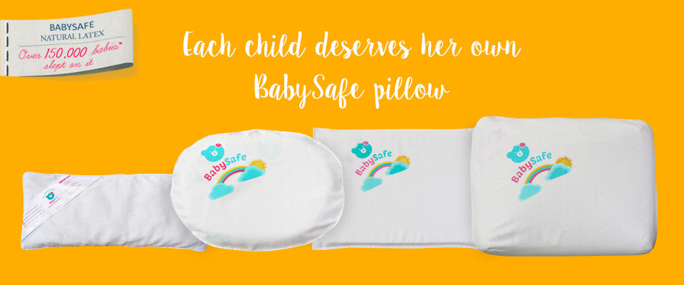 BabySafe Family of Pillows