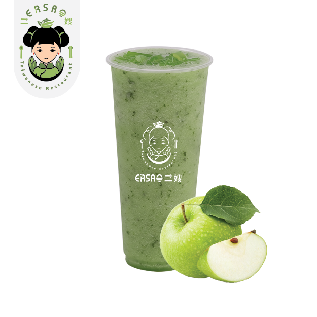 Green Apple Smoothie 青蘋果冰沙