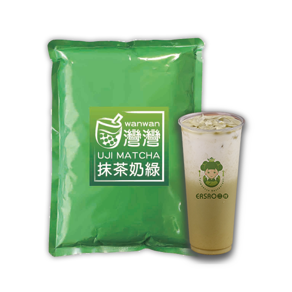 Matcha Milk Tea Flavor 宇治抹奶茶