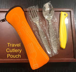 Travel Cutlery Set Orange