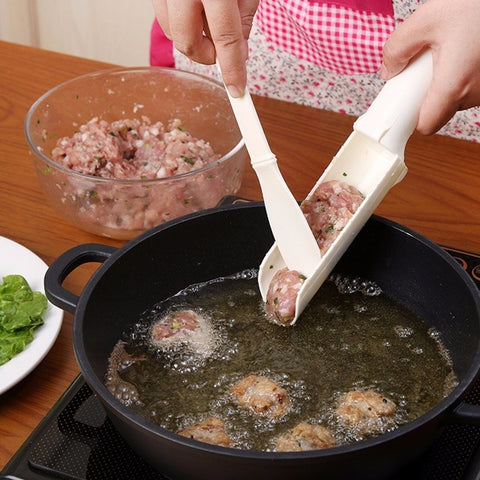 DIY Meat Meatball Maker Set Fish Ball Scoop Home Kitchen Tools Gadget Accessories