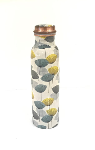 100% Pure Copper Water Bottle (950ml)