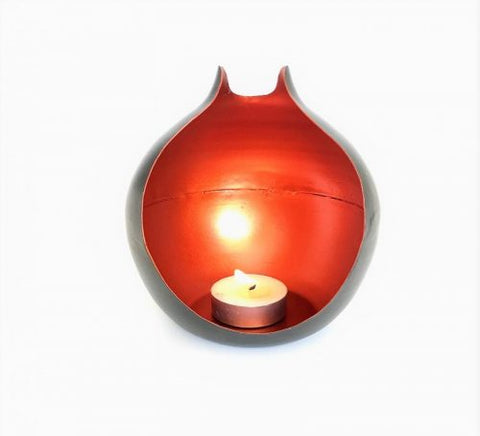 Iron Small Candle Tealight Holder
