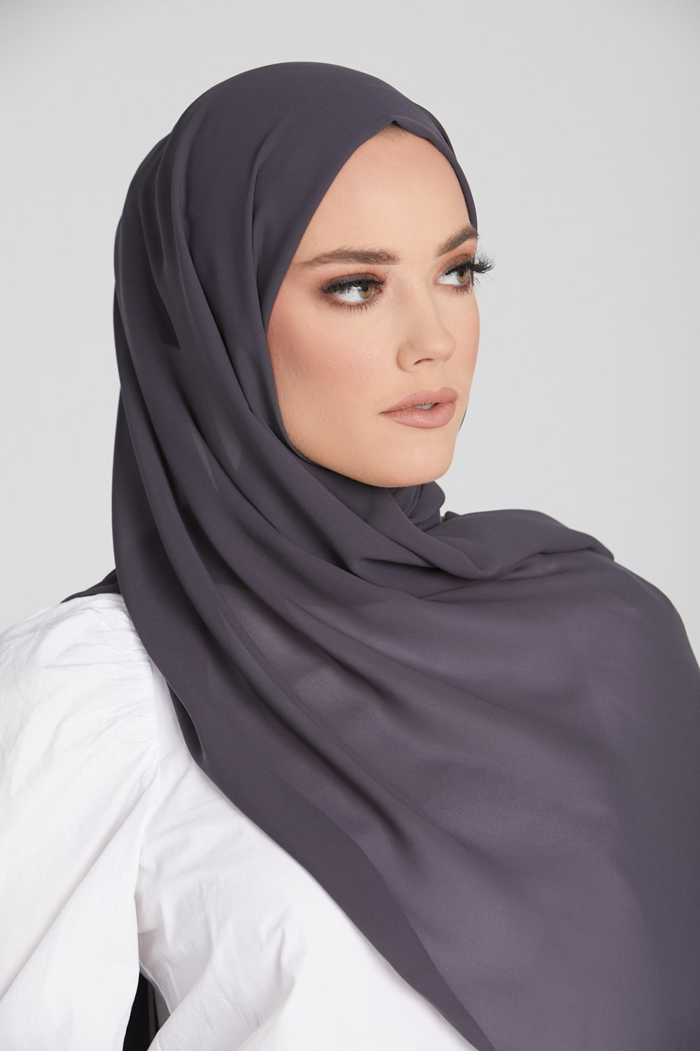 Pebble Georgette Hijab