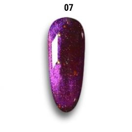 Smalto Semipermanente - Gel Polish (Cat Eye Effect 5D Mirror)