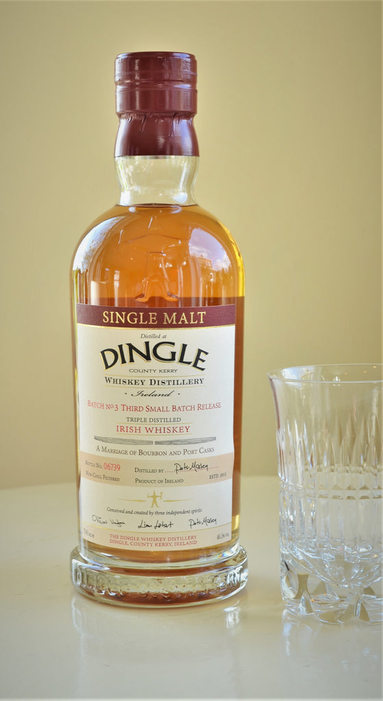 Dingle Single Malt Whiskey Batch No. 3