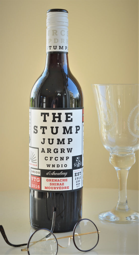 The Stump Jump D'Arenberg Grenache Shiraz Mourvedre