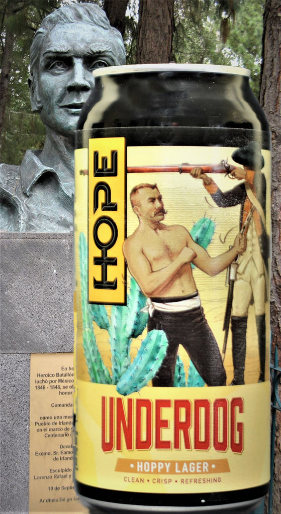 Hope Underdog Hoppy Lager