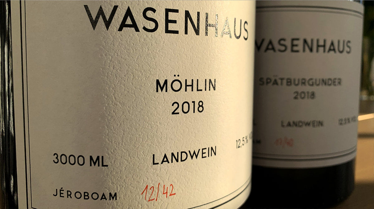 rare, large format: for the holidays: 2018 Wasenhaus