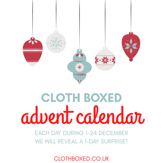 The Cloth Boxed Advent Calendar is here!