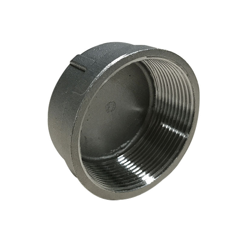 2 inch stainless steel drain cap for 14/16, 18, 20, 24 and 36 inch slab saws