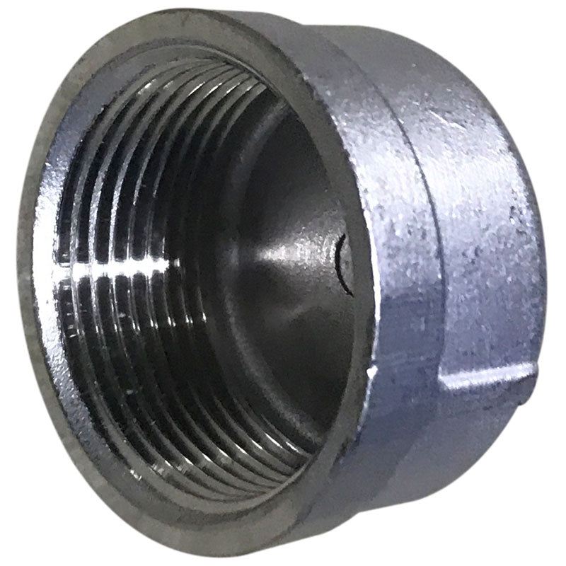 1-1/4 stainless steel drain cap for Model 12 and Model PT slab saws