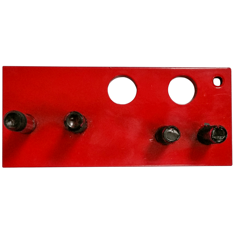 Split nut / feed dog mounting plate for 14/16 inch slab saws
