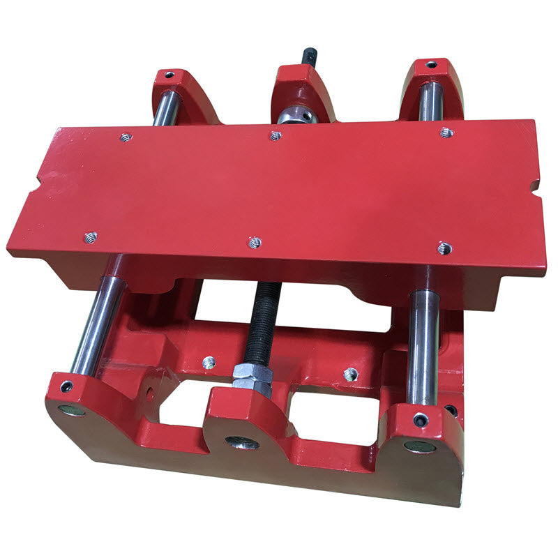 Complete replacement carriage assembly for 14/16 inch slab saws (short carriage without roller blocks and carriage retainers)