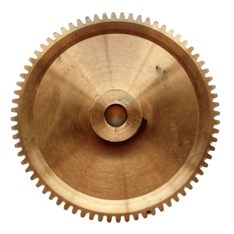 3 inch heavy duty powerfeed ring gear with 5 16 (.3125) inch bore and set screws for 14/16 inch Highland Park saws. Replaces Boston G-1038.  This gear requires use of the 180027 worm gear and 160052 drive shaft