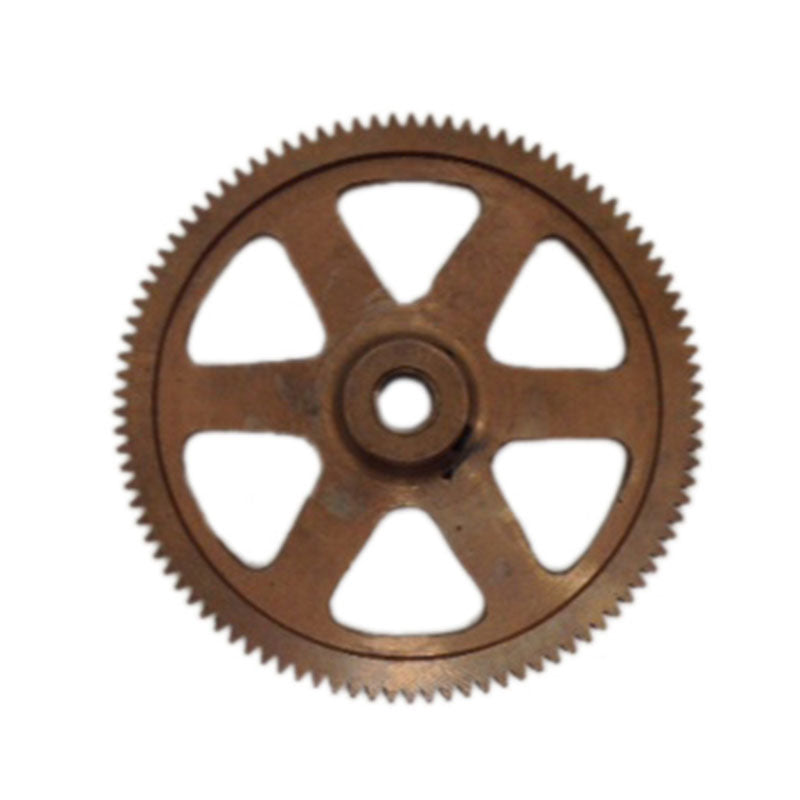 4 inch powerfeed ring gear with 3/8 (.37) inch bore and set screws for 18 and 20 inch slab saws