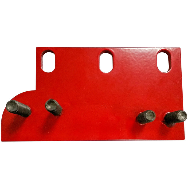 Split nut / feed dog mounting plate for 18 and 20 inch slab saws