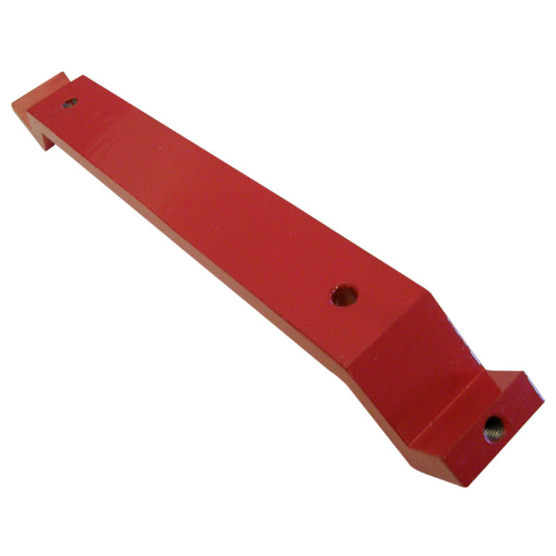 Carriage retainer strap for 24 inch slab saws