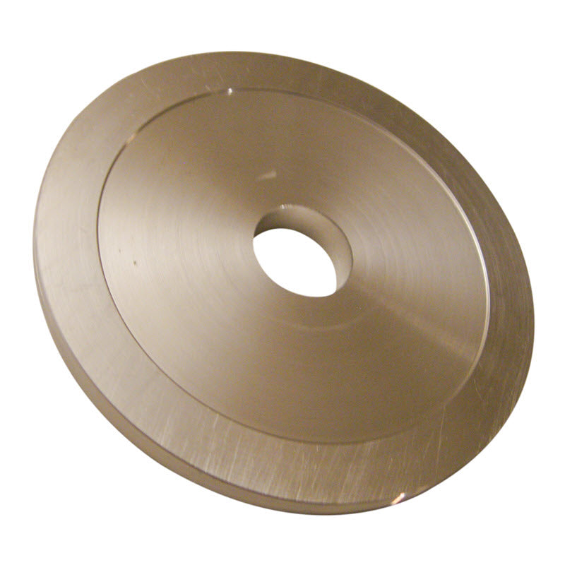 Inside outside arbor flange with 1 inch bore for 24 inch slab saws