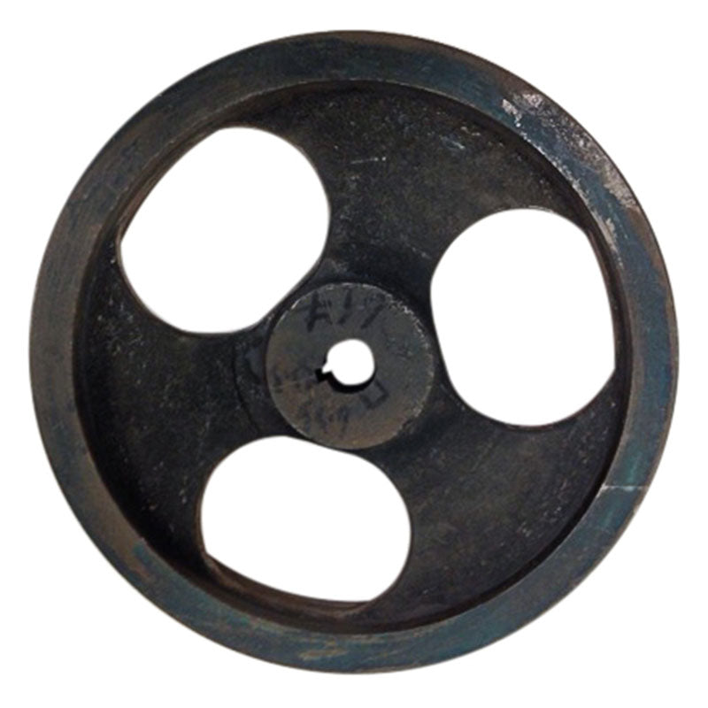 12 inch cast iron dual belt pulley with 1 inch bore for 36 inch slab saws