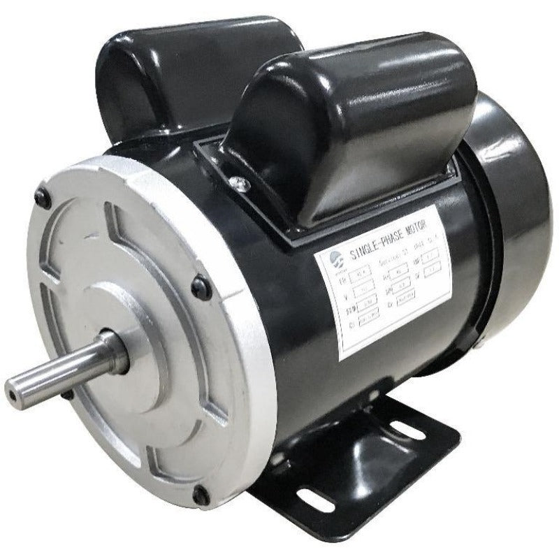 1725 RPM CW rotation 1/3 HP dual capacitor 110v motor with NEMA 48 frame