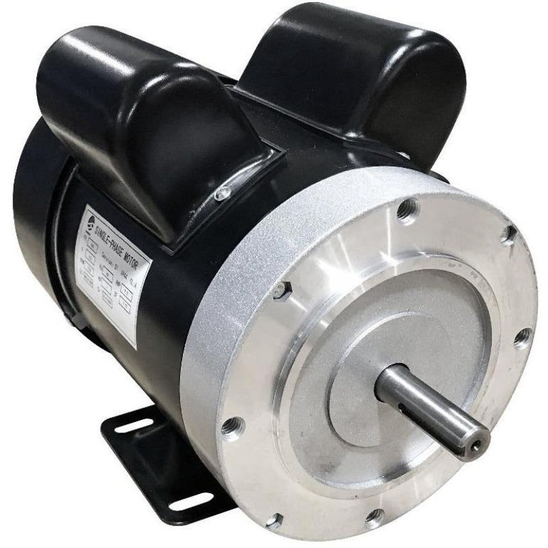 1725 RPM CW rotation 1/2 HP dual capacitor 110v motor with NEMA 56 frame