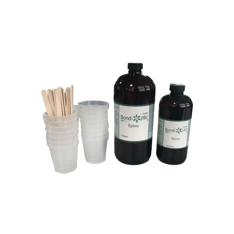 Bond-Optic 48 ounce Optical Grade Epoxy Kit