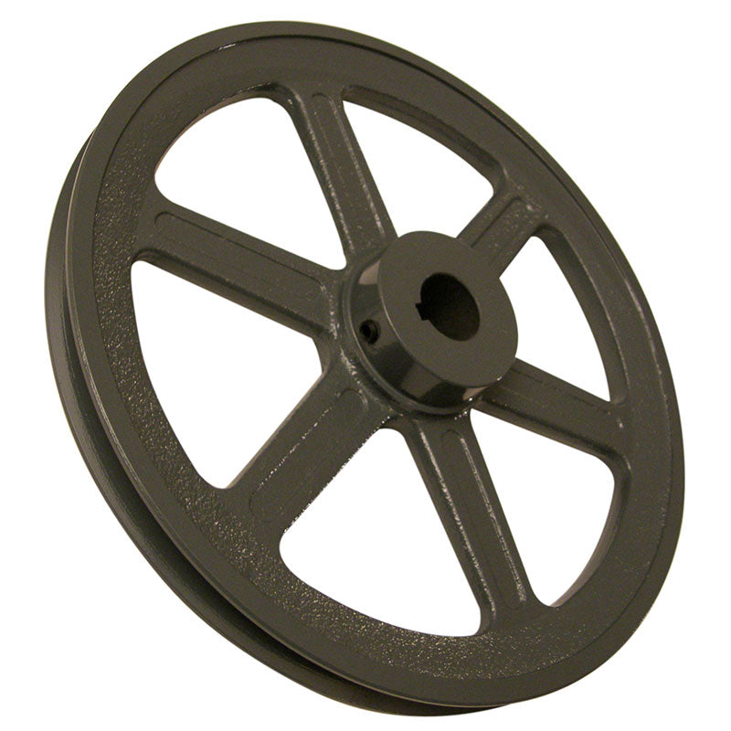 10-1/4 (10.25) inch BK105 cast iron pulley with 1 inch bore for 24 inch slab saws