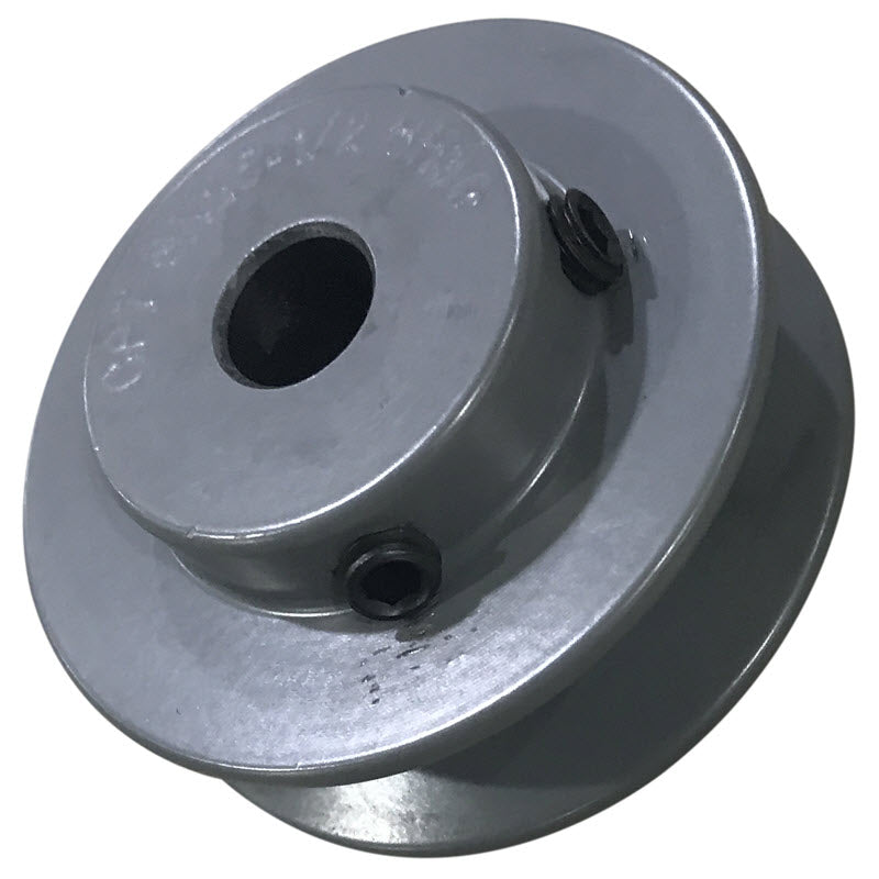 2-1/2 (2.5) inch BK25 cast iron pulley with 1/2 (.500) inch bore for  HT10 and HT12 inch slab saws