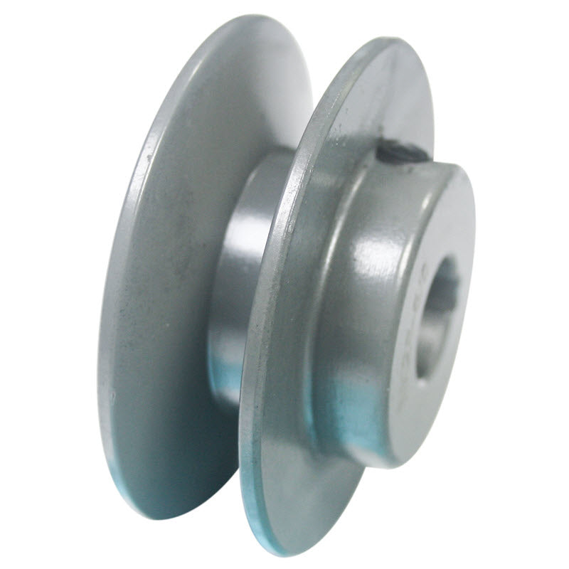 2-1/2 (2.5) inch BK25 cast iron pulley with 5/8 (.625) inch bore for 12 inch slab saws