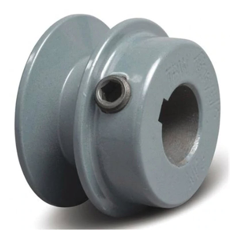 2-1/2 (2.5) inch BK25 cast iron pulley with 3/4 (.75) inch bore for 12 inch slab saws