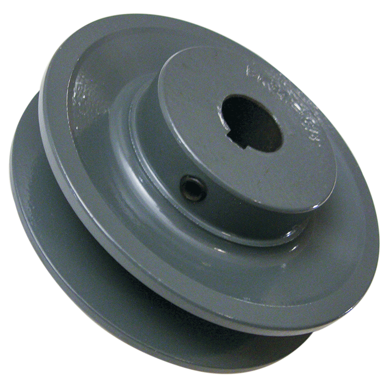 3 inch BK30 cast iron motor pulley with 5/8 (.625) inch bore for 14/16 inch slab saws