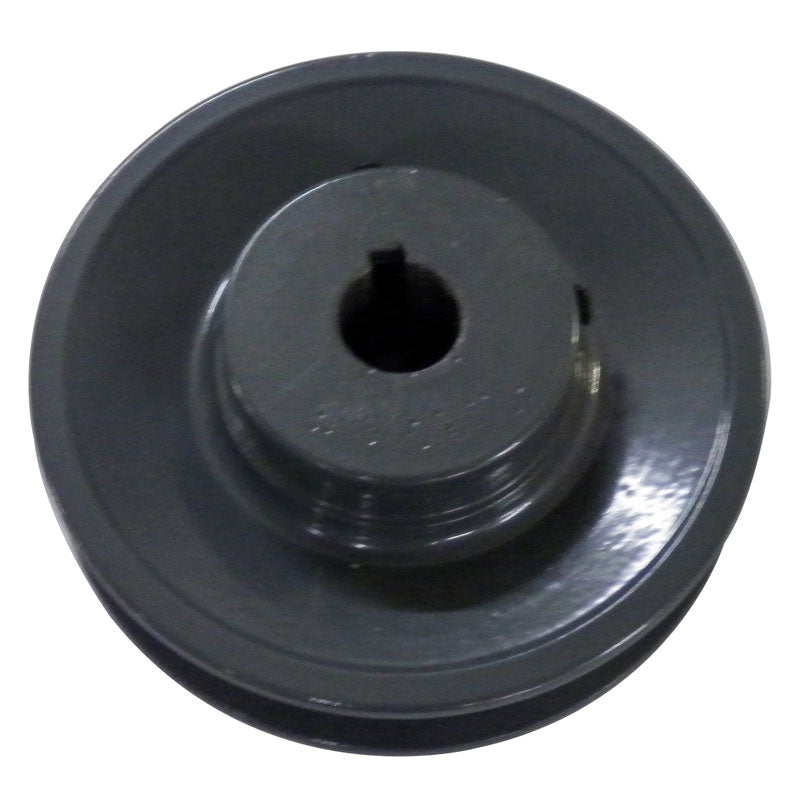 4 inch BK40 cast iron motor pulley with 5/8 (.625) inch bore for 18, 20 and 24 inch 230v 50Hz slab saws