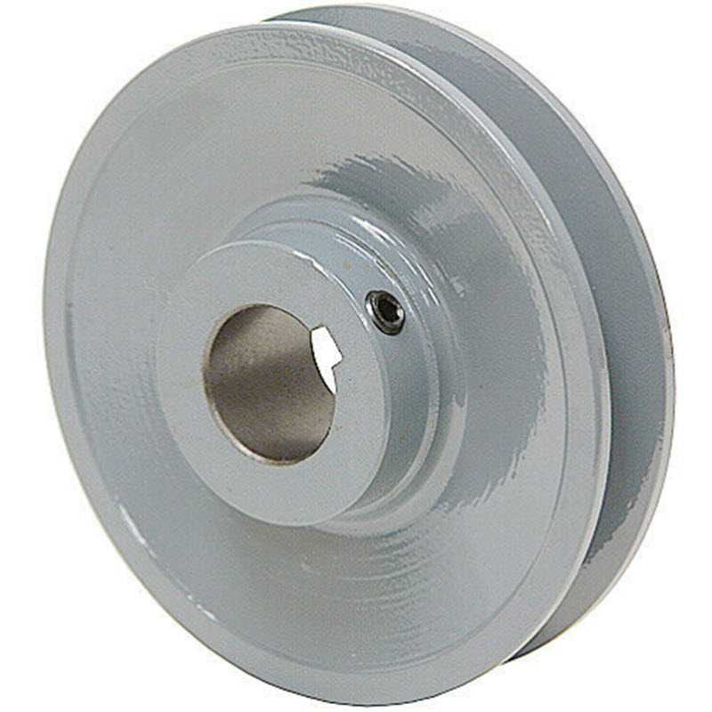 4 inch BK40 cast iron motor pulley with 3/4 (.75) inch bore