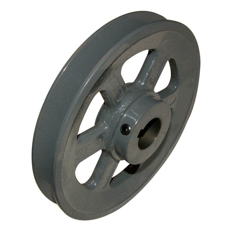 5 inch BK52 cast iron pulley with 3/4 (.75) inch bore for 14/16 inch slab saws