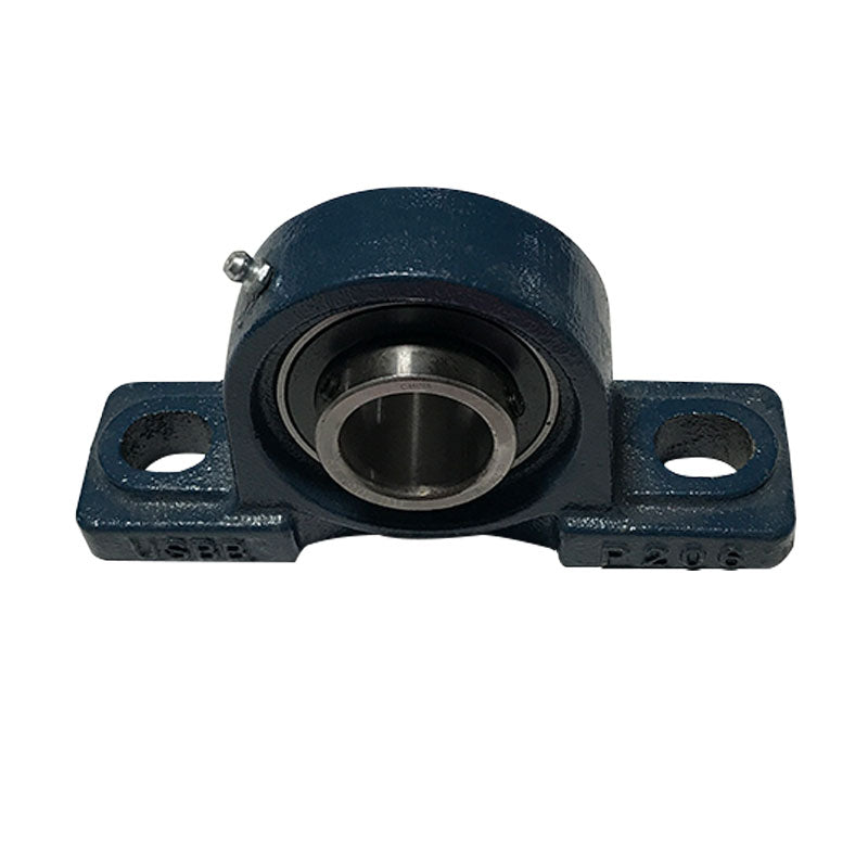 Pillow block arbor bearing with 1-3/16 (1.187) inch bore for pre-1962 round rail 18 and 24 inch slab saws