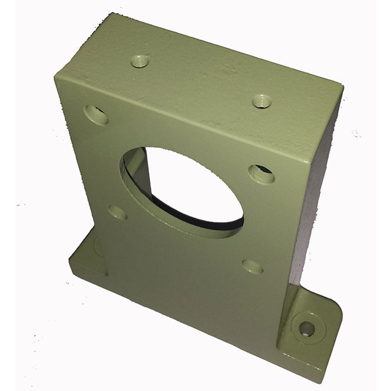 Left or right arbor bearing support for Model BW and Rock's Lapidary bull wheel grinders