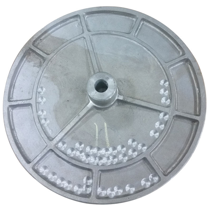 12 inch flat grinding disc for PSA sanding discs with 3/4 (.75) inch bore
