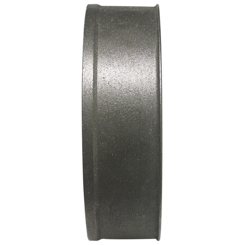 35mm 80 grit diamond plated wand wheel with 16mm arbor